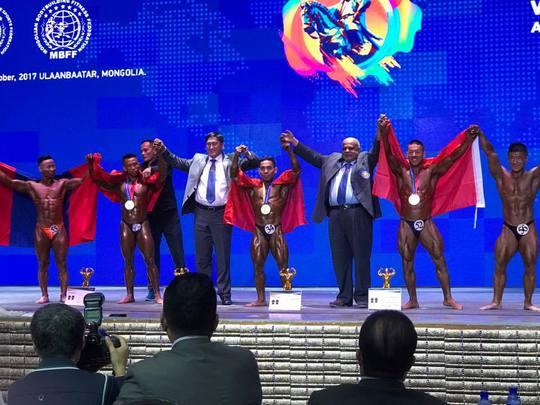 Phạm Văn Mách lần thứ 5 vô địch thế giới