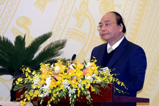 Thủ tướng: Lãnh đạo tỉnh không được về Hà Nội biếu xén tết! - Ảnh 1.