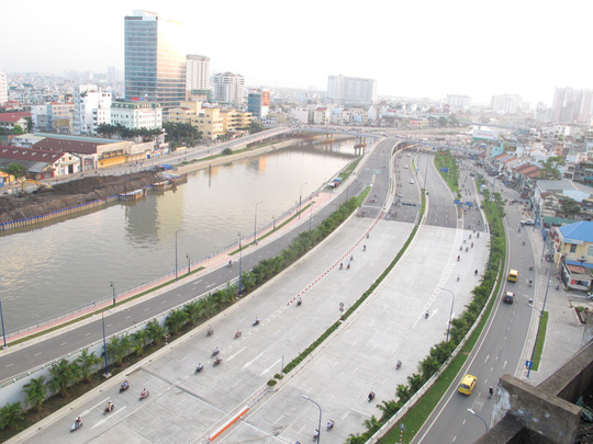 Bất động sản phía Tây Sài Gòn lại nóng - Ảnh 1.