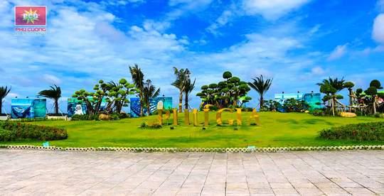 Xây dựng sân tập golf trên đảo nhân tạo lớn nhất ĐBSCL - Ảnh 2.
