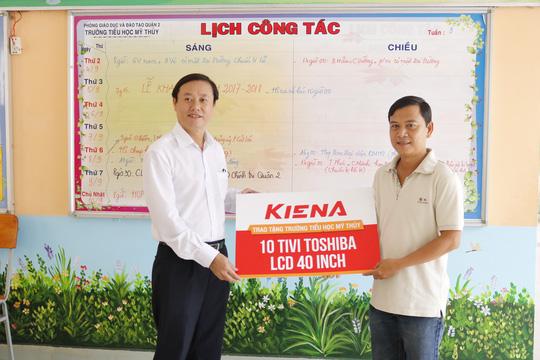 Kiến Á Group trao tài trợ cho cụm trường học tại Khu đô thị Cát Lái - Ảnh 1.