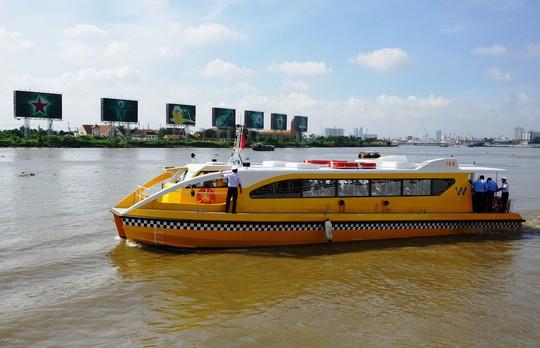 Ngày 25-11, Sài Gòn có buýt đường sông - Ảnh 1.