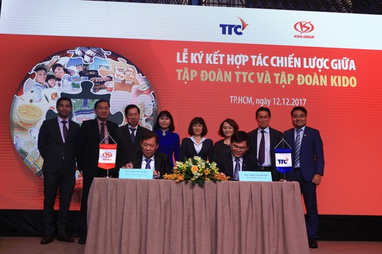 TTC và KIDO ký kết hợp tác phân phối đường - Ảnh 1.