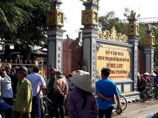 Đình làng hơn 500 tuổi ở Thái Bình bị thiêu rụi - Ảnh 4.