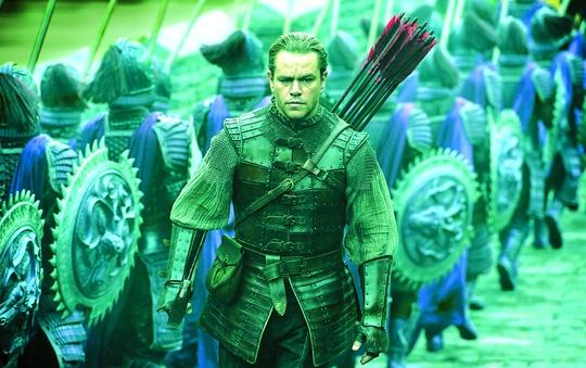 """""""The Great Wall"""" mở màn cho xu hướng hợp tác làm phim """"bom tấn"""" của Hollywood và Trung Quốc. Ảnh: HOLLYWOOD"""