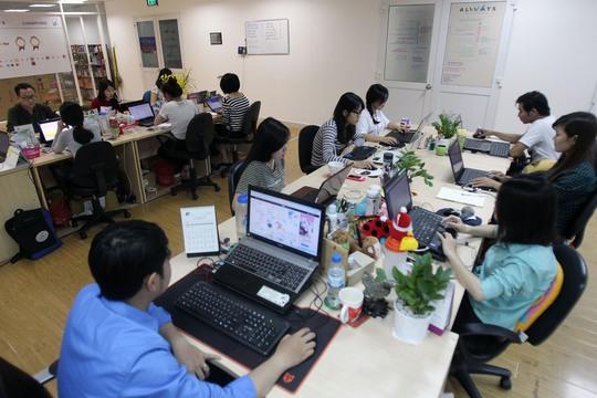 Công ty TNHH Always là một trong những start-up tạo được ấn tượng tốt Ảnh: HOÀNG TRIỀU