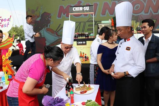 Chin-Su đồng hành cùng Lễ hội Ẩm thực và Giải trí Quốc tế tại TP HCM - Ảnh 2.