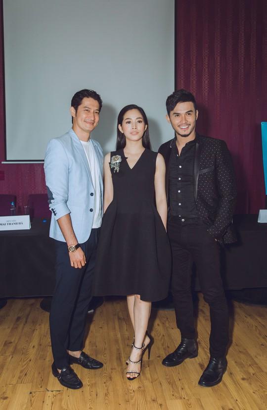 Huy Khánh vướng tình tay ba trong phim mới - Ảnh 1.
