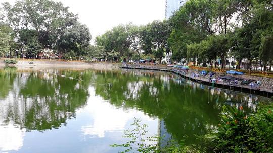 Chống ngập Tân Sơn Nhất bằng hồ cảnh quan - Ảnh 1.