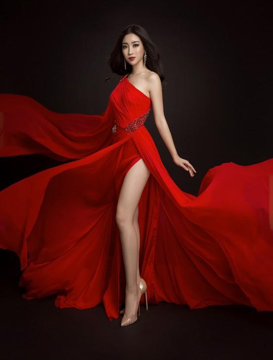 Ngắm đầm dạ hội Mỹ Linh mang đến Hoa hậu Thế giới 2017 - Ảnh 3.