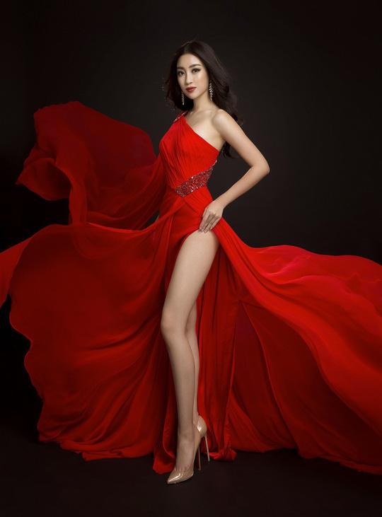 Ngắm đầm dạ hội Mỹ Linh mang đến Hoa hậu Thế giới 2017 - Ảnh 2.