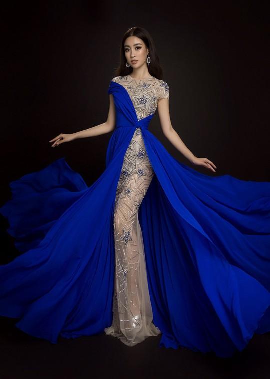 Ngắm đầm dạ hội Mỹ Linh mang đến Hoa hậu Thế giới 2017 - Ảnh 10.