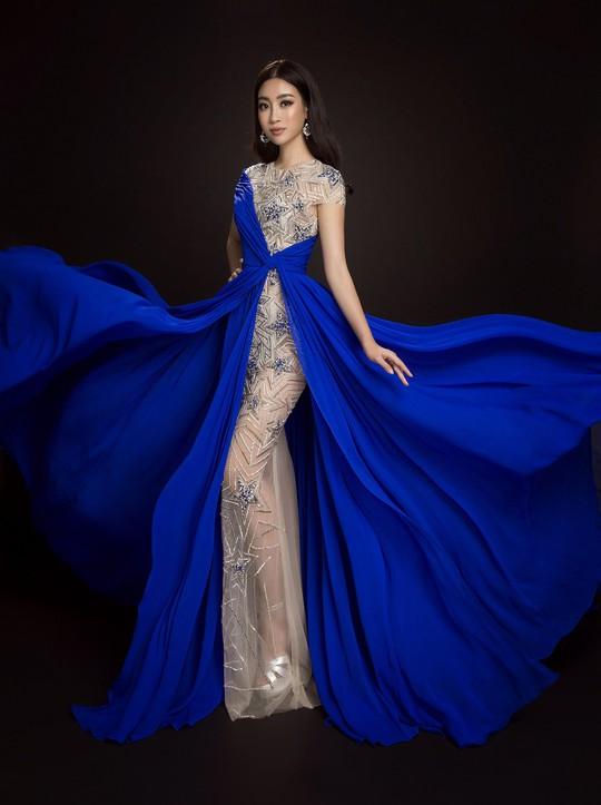Ngắm đầm dạ hội Mỹ Linh mang đến Hoa hậu Thế giới 2017 - Ảnh 9.