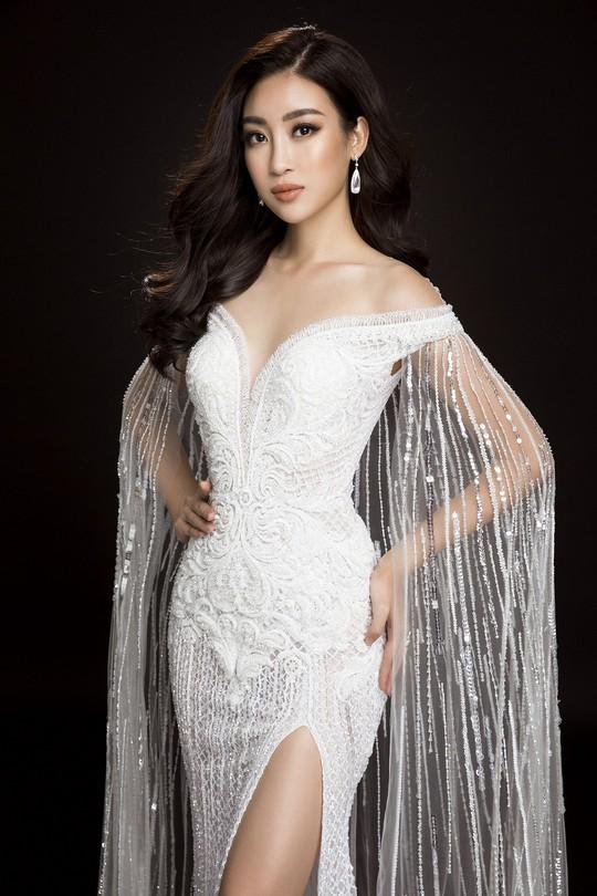 Ngắm đầm dạ hội Mỹ Linh mang đến Hoa hậu Thế giới 2017 - Ảnh 7.