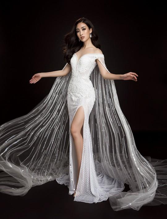 Ngắm đầm dạ hội Mỹ Linh mang đến Hoa hậu Thế giới 2017 - Ảnh 6.