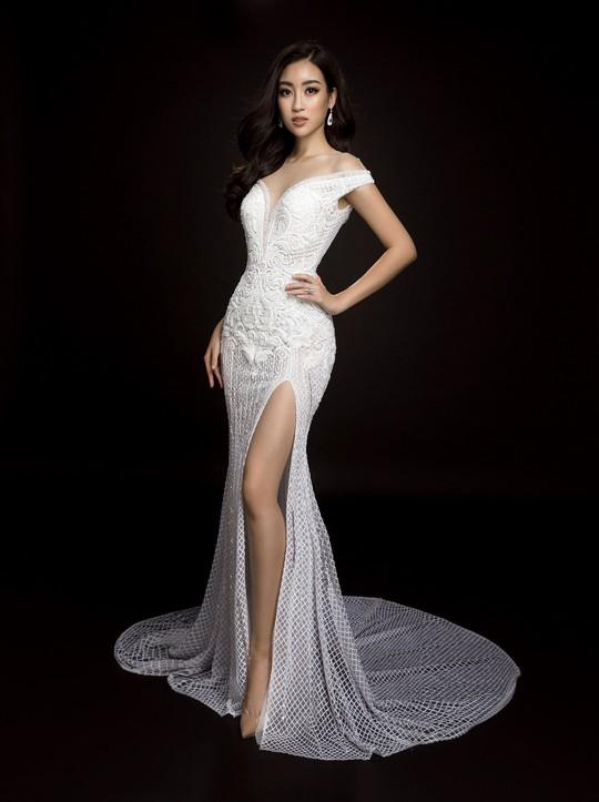 Ngắm đầm dạ hội Mỹ Linh mang đến Hoa hậu Thế giới 2017 - Ảnh 4.
