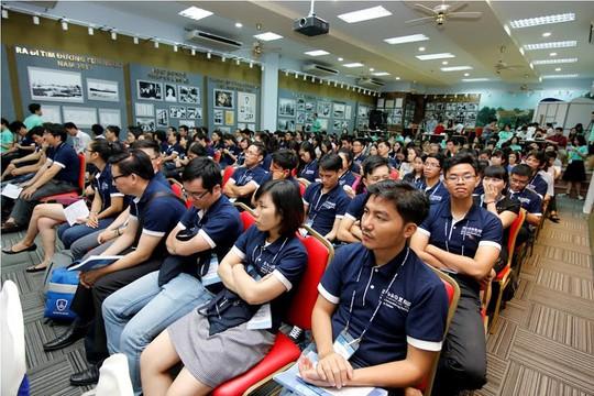 60 học viên đầu tiên tham gia chương trình GET lần đầu tiên được tổ chức tại Việt Nam