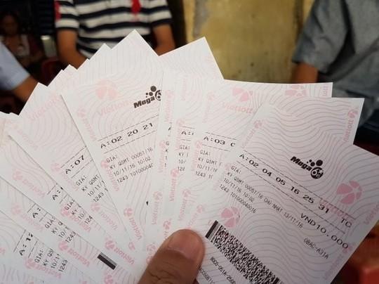 Vé xổ số điện toán Vietlott được bán tại nhiều nơi ở Quảng Bình (ảnh minh hoạ)