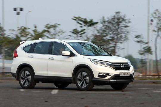Honda CR-V giảm tới 100 triệu