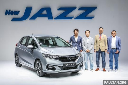 Honda Jazz 2017 có giá từ 398 triệu đồng - Ảnh 1.