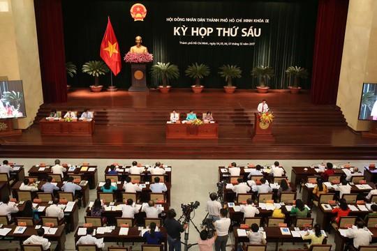 Khai mạc kỳ họp thứ 6, HĐND TP HCM khóa IX - Ảnh 4.