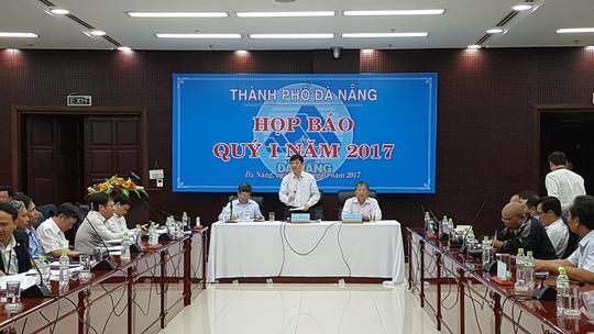 Buổi họp báo thu hút hơn 100 phóng viên đến từ các cơ quan báo chí trên địa bàn thành phố Đà Nẵng