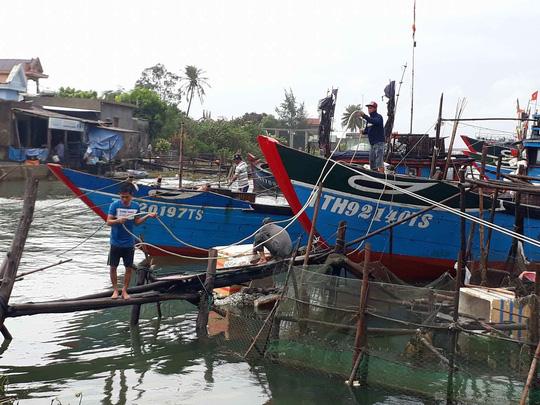 Thừa Thiên- Huế: 2 người chết và mất tích trước bão - Ảnh 1.