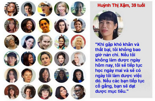 Ba phụ nữ Việt truyền cảm hứng trên toàn thế giới - Ảnh 2.