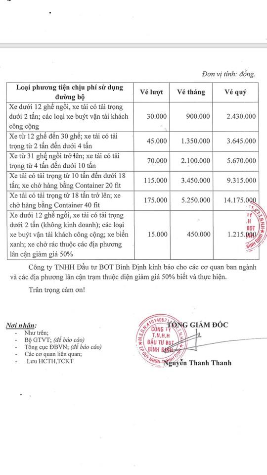 """Bộ GTVT """"lật kèo"""" thỏa thuận giảm giá vé BOT Nam Bình Định? - Ảnh 1."""