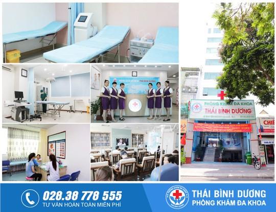 Phòng khám Đa khoa Thái Bình Dương - uy tín chất lượng tại TP HCM - Ảnh 1.