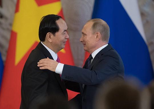 Chủ tịch nước cảm ơn Tổng thống V. Putin và nước Nga - Ảnh 1.