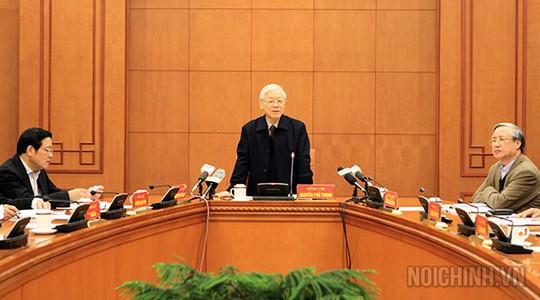 Tổng Bí thư kết luận: Khẩn trương đưa vụ án Trịnh Xuân Thanh ra xét xử - Ảnh 1.
