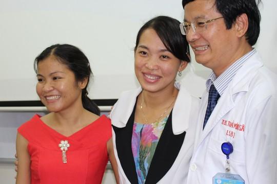 Hai nữ bệnh nhân trẻ bình phục sức khỏe sau ghép thận