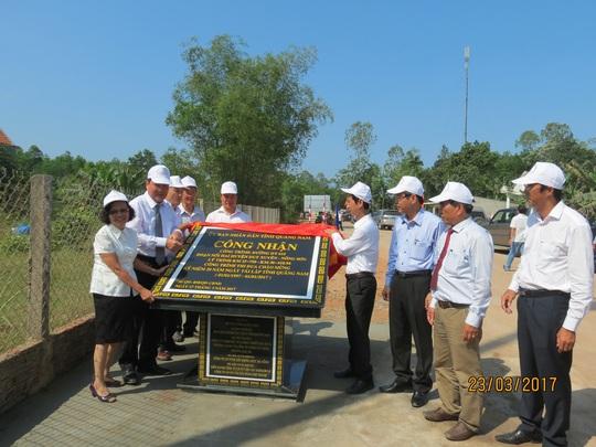 Tuyến đường này được công nhận là công trình thi đua chào mừng 20 năm ngày tái lập tỉnh Quảng Nam