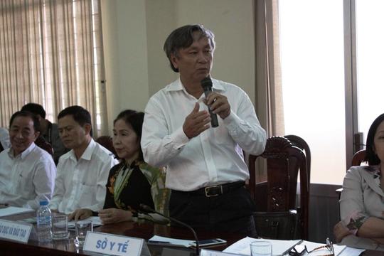 Ông Liêm phát biểu trong một cuộc họp báo.