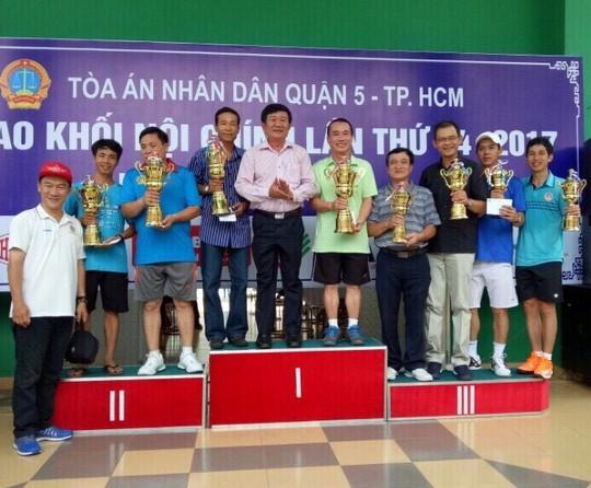 Hội thao Khối Nội chính TP HCM - Ảnh 1.