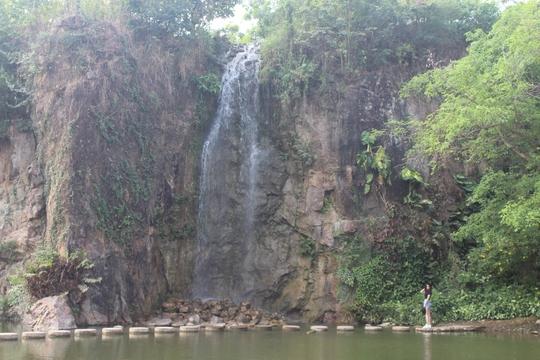 Một khung cảnh trong khu du lịch Bửu Long ở Đồng Nai