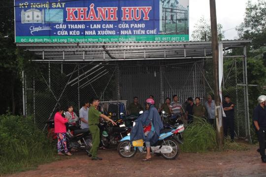 Đôi nam nữ cùng chết trong căn nhà mặt tiền ở Đồng Nai - Ảnh 2.