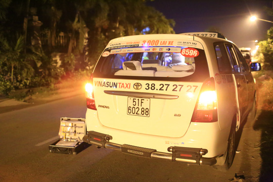 Chiếc taxi chở nhầm cướp