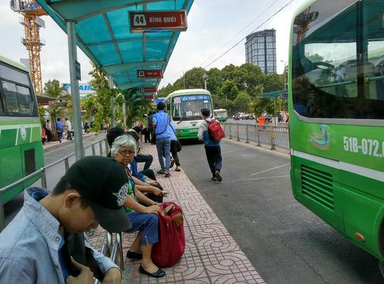 Từ ngày 10-4, trạm trung chuyển xe buýt Bến Thành sẽ được dời qua đường Hàm Nghi