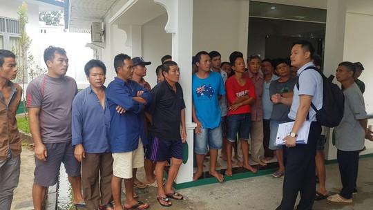 Đại sứ Việt Nam tại Indonesia kêu gọi thuyền trưởng không tuyệt thực - Ảnh 1.
