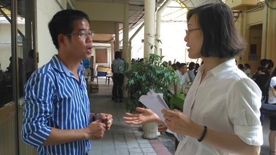 Doanh nhân trẻ Đỗ Lương Đại Nam bức xúc khi nói về thủ tục hành chính. Ảnh: Ngọc Ánh