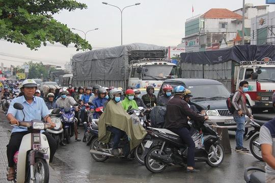 Mưa lớn, nhiều nơi ở Đồng Nai và Bà Rịa - Vũng Tàu ngập nặng - Ảnh 11.