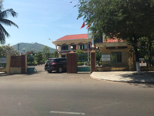 Đoàn công tác của Ủy ban Kiểm tra Trung ương đến Văn phòng Tỉnh ủy Bình Định công bố kết luận giải quyết đơn tố cáo ông Nguyễn Văn Thiện và ông Lê Kim Toàn