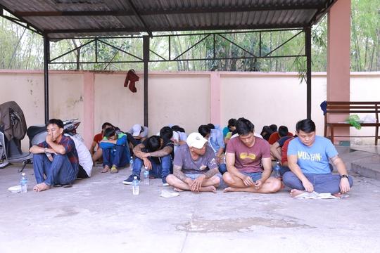 35 đối tượng bị tạm giữ để làm rõ vụ hỗn chiến, giải cứu người đẹp
