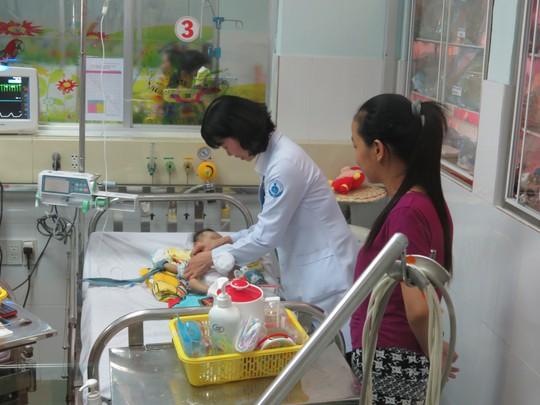 Cháu bé đã ổn định, đang được tiếp tục theo dõi tại bệnh viện