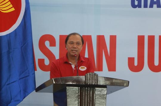 Xem các nhà ngoại giao ASEAN tỉ thí thể thao - Ảnh 3.