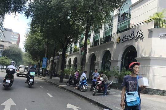 Sau khi Báo Người Lao Động phản ánh, đường Nguyễn Du, quận 1 thông thoáng.