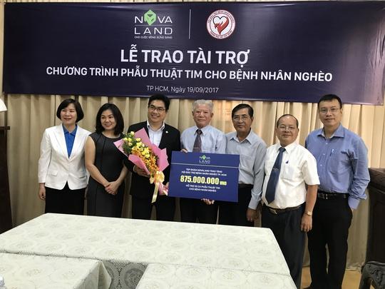 Tập đoàn Novaland tài trợ mổ tim cho bệnh nhân nghèo - Ảnh 1.