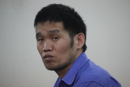 Bị cáo Han JinKun tại phiên tòa.